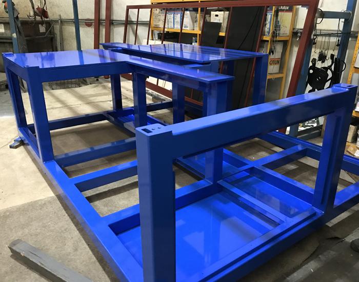 Powder Coating Blue