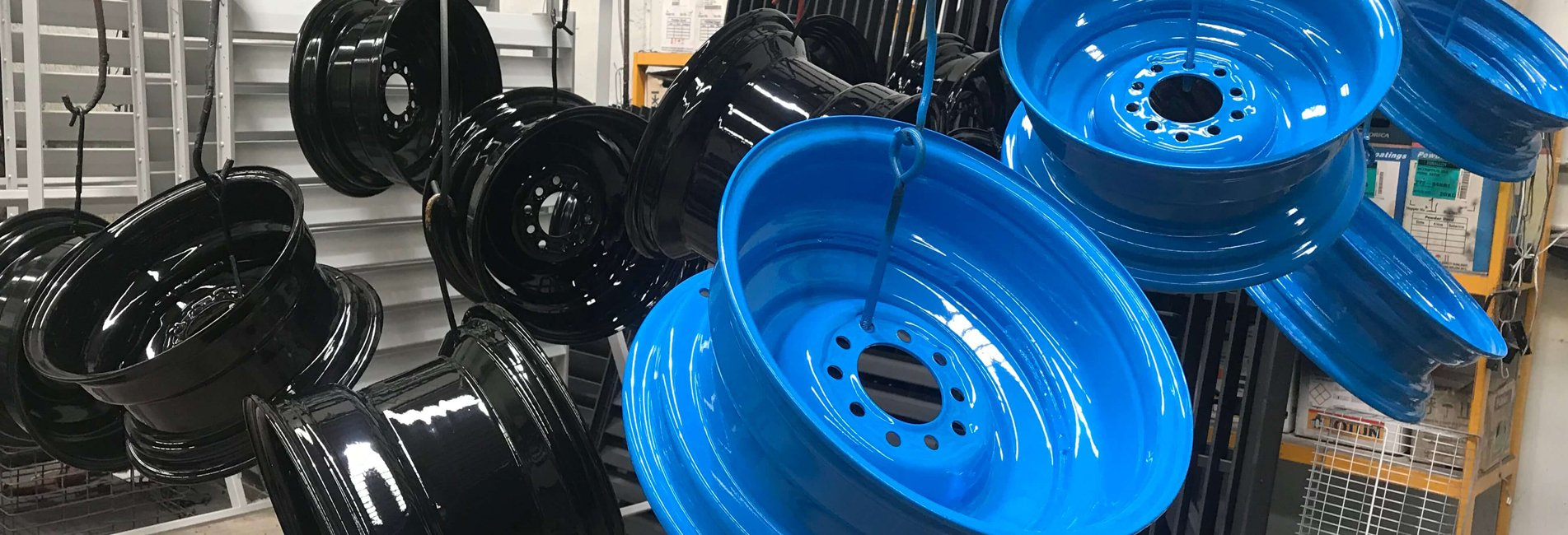Powder Coating Wheels 2